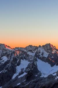 1080x1920 Sunset At Glacier 5k