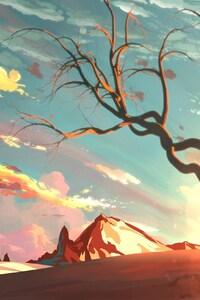 Sunset Beautiful Painting