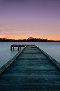 Sunset By Pier 5k