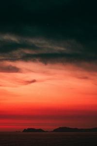 Sunset Horizon 5k