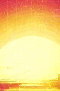 480x854 Sunset Illustration