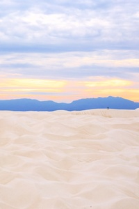 Sunset In White Sands National Monument 5k