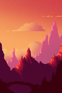 Sunset Journey Landscape