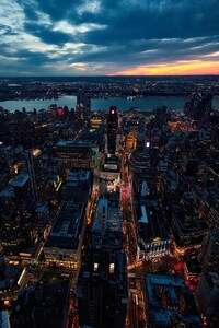 Sunset New York City