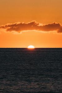 720x1280 Sunset Ocean 5k