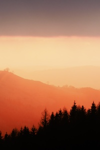 540x960 Sunset Over Cantal 5k