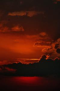 Sunset Sky Dark 5k