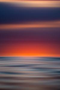 Sunset View Blur 8k