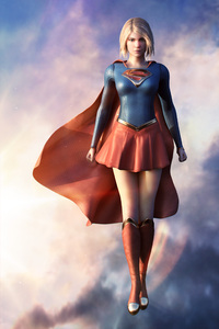 Super Girl Artwork