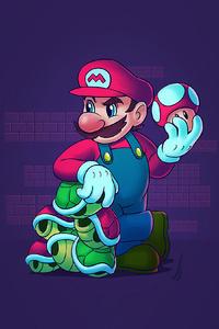 320x480 Super Mario Nintendo 4k