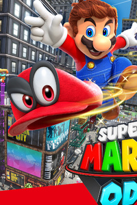 1080x2160 Super Mario Odyssey 4k