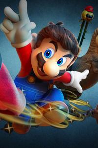 1080x2160 Super Mario Odyssey 8k