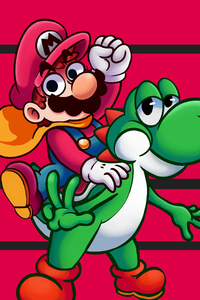 320x480 Super Mario World 5k