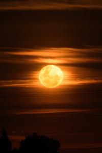 1440x2560 Super Moon 4k