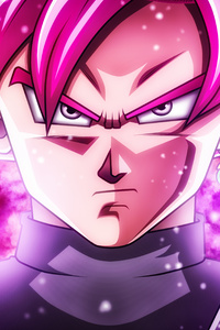 1080x2160 Super Saiyan Rose Bg 5k