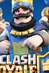 240x400 Supercell Clash Royale HD