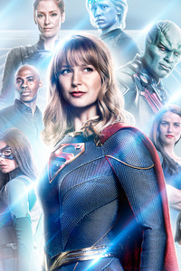 240x400 Supergirl 2019 New