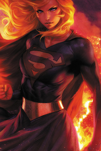 1440x2560 Supergirl 2020 4k Artwork