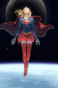 Supergirl 4k Art New