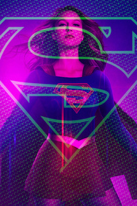 Supergirl Art 4k