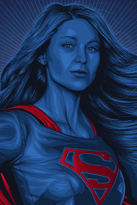 Supergirl Arts 4k