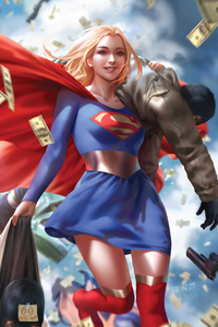 800x1280 Supergirl Artwork 2020