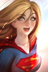 540x960 Supergirl Artworks 4k