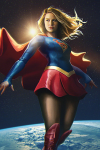 540x960 Supergirl Central City Superhero