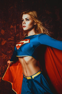 1080x2160 Supergirl Cosplay 2018