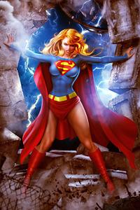 1440x2560 Supergirl Dc Superhero 4k