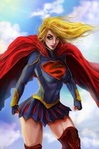 Supergirl Digital Art