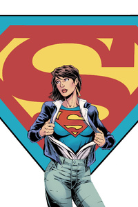 2160x3840 Supergirl Digital Art 5k