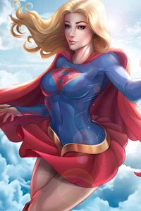 Supergirl Digital Artwork