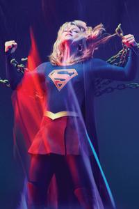 320x480 Supergirl Freedom 4k