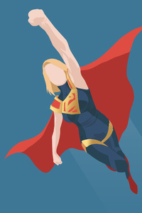 Supergirl Injustice 2 Minimalist