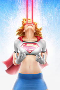 Supergirl Laser Eye