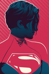 640x1136 Supergirl Minimal