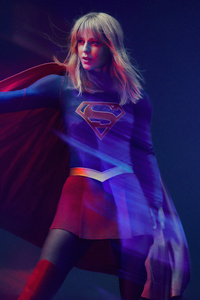 1080x2280 Supergirl Season 5 2019 4k