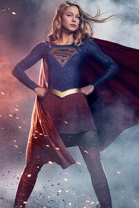 1080x2160 Supergirl Season 5 8k