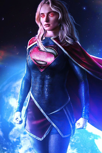 800x1280 Supergirl Sophie Turner 2020