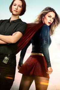 320x568 Supergirl Tv Series Poster 5k