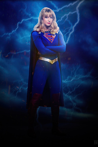 2160x3840 Supergirl Warrior Girl 4k