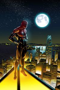 480x800 Superior Spiderman 5k