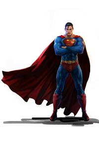 Superman 2020 4k Minimalism
