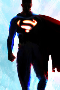 320x568 Superman 5k 2019 Art