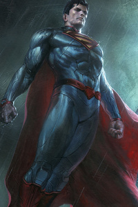 320x568 Superman And Batman Dc Comics Superheroes Artwork