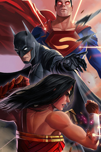 Superman And Batmanart