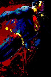 750x1334 Superman And Logo Artwork