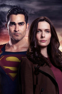 1125x2436 Superman And Lois TV Series 4k