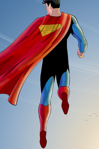 Superman And The Sun Artwork 5k